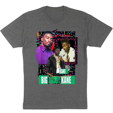 """Big Daddy Kane """"Colors"""" Men's T-Shirt - Charcoal Heather"""