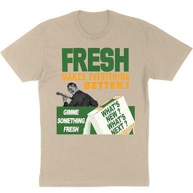 "Piece Of Pie Brian Whelan ""Fresh"" Unisex T-Shirt - Tan"