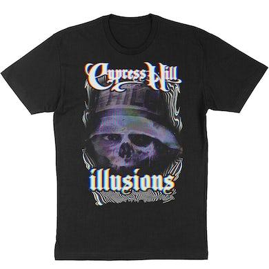 """Cypress Hill  """"Illusions"""" T-shirt - Black"""