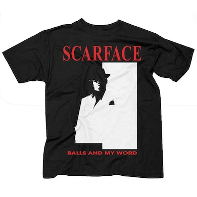 """Scarface """"Balls And My Word"""" T-Shirt"""