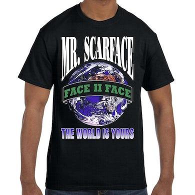 """Scarface """"Mr. Scarface"""" T-Shirt"""