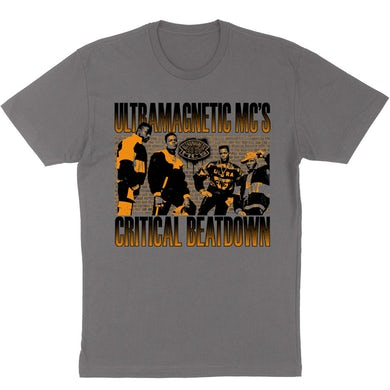 """Critical Beatdown"" T-Shirt - Grey"