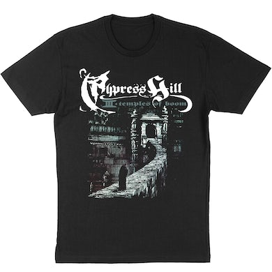"""Cypress Hill """"Temples of Boom"""" T-Shirt"""