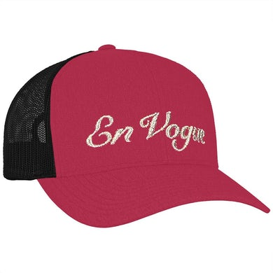 """EV Logo"" Hot Pink Trucker Hat"