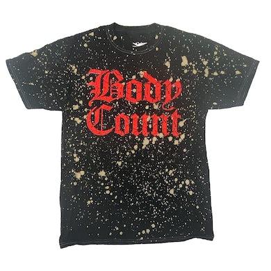 """""""Old English Logo"""" Splatter Dyed T-Shirt"""