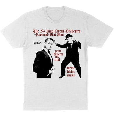 Piece Of Pie The No Ring Circus Orchestran & Reverend Beat-Man T-Shirt