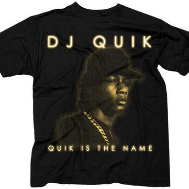 "DJ Quik ""Quik Is The Name"" T-Shirt"