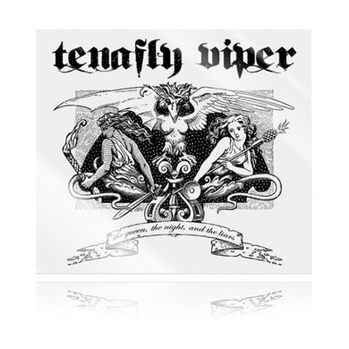 """Tenafly Viper """"The Queen, the Night, and the Liars"""" CD ft. members of MUSHROOMHEAD"""