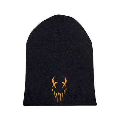 "Mushroomhead ""X-Face"" Orange Print Beanie"