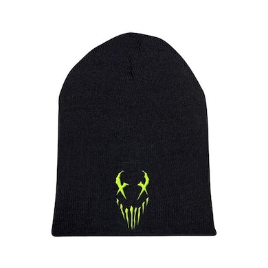 "Mushroomhead ""X-Face"" Green Print Beanie"