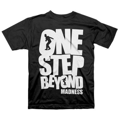 "Madness ""One Step Beyond"" T-Shirt, Black"
