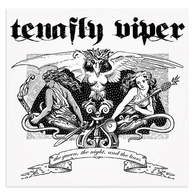 """Tenafly Viper """"The Queen, the Night, and the Liars"""" Vinyl LP ft. members of MUSHROOMHEAD"""