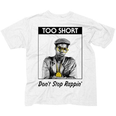 "Too $hort ""Rappin'"" Men's White T-Shirt"