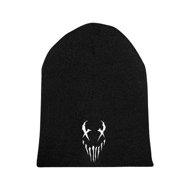 "Mushroomhead ""X-Face"" White Print Beanie"