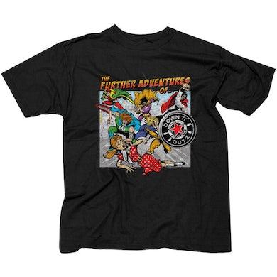 DOWN N OUTZ Album Cover T-Shirt