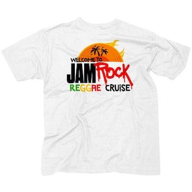 "Welcome To Jamrock 2015 ""Reggae Cruise"" White Event T-Shirt"