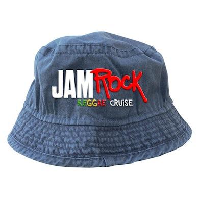 "Welcome To Jamrock 2015 ""Reggae Cruise"" Blue Event Bucket Hat"
