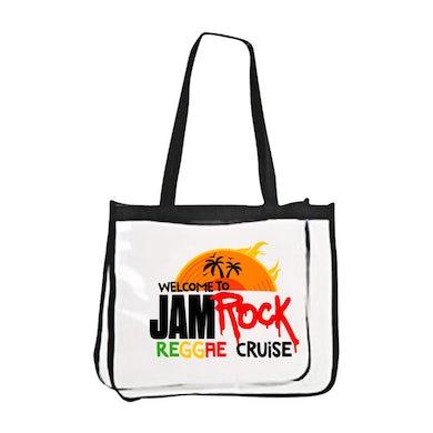 "Welcome To Jamrock 2015 ""Reggae Cruise"" Event Clear Beach Bag"