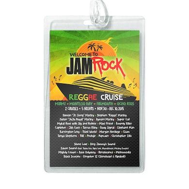 "Welcome To Jamrock 2015 ""Reggae Cruise"" Event Luggage Tag (2 x $10)"