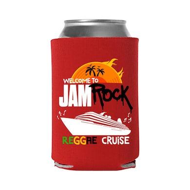 "Welcome To Jamrock 2015 ""Reggae Cruise"" Red Event Koozie"