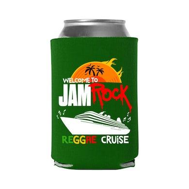 "Welcome To Jamrock 2015 ""Reggae Cruise"" Green Event Koozie"