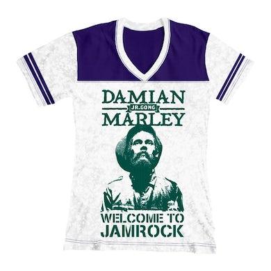 Welcome To Jamrock Women's Football T-Shirt
