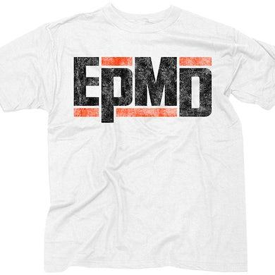 "EPMD ""Classic Logo"" Men's White T-shirt"