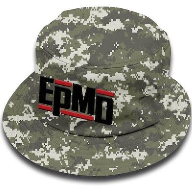 "EPMD ""Classic Logo"" Digital Camo Bucket Hat"