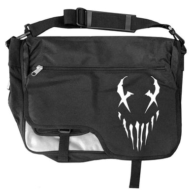 "Mushroomhead ""X-Face"" Messenger Bag Black/White"