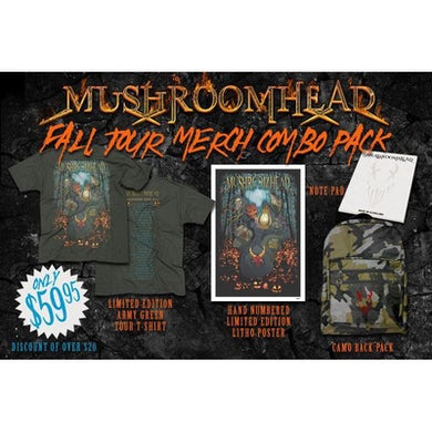 Mushroomhead Fall Tour 2016 Merch Combo Pack