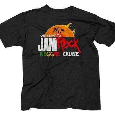 "Welcome To Jamrock 2016 ""Reggae Cruise"" Black Event T-Shirt"