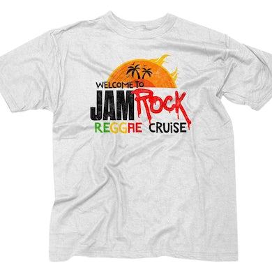 "Welcome To Jamrock 2016 ""Reggae Cruise"" White Event T-Shirt"
