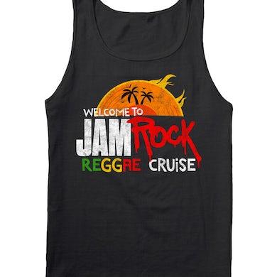 "Welcome To Jamrock 2016 ""Reggae Cruise"" Black Event Tank Top"
