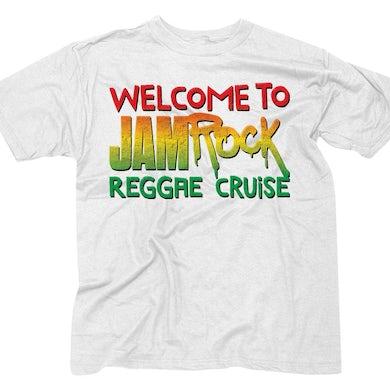 "Welcome To Jamrock 2016 ""Stacked Logo"" White T-Shirt"