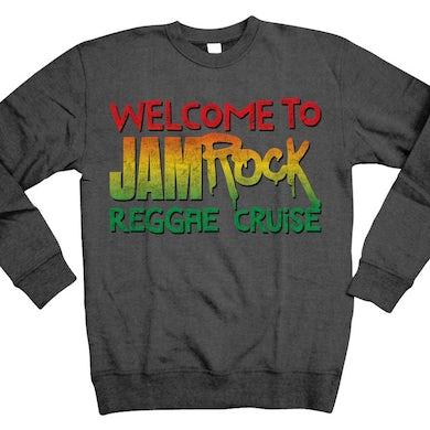 """Welcome To Jamrock 2016 """"Stacked Logo"""" crewneck sweatshirt"""
