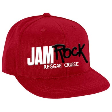 """Welcome To Jamrock 2016 """"Reggae Cruise"""" Red Event Snap Back Hat"""