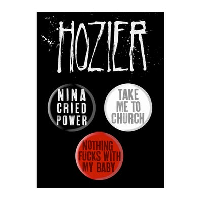 Hozier Song Title Button Pack