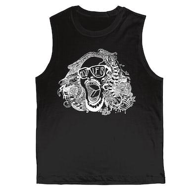 Hozier Black Muscle Tank-Fan Art