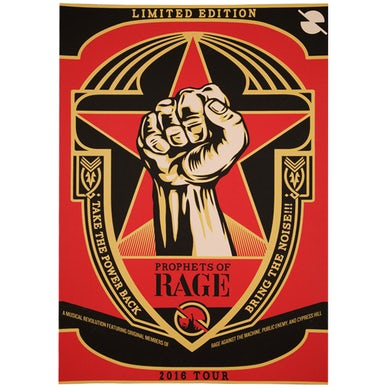 Prophets Of Rage Poster-2016 Tour