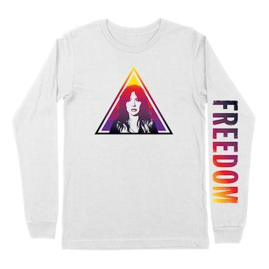 DOROTHY White L/S-Freedom Pyramid