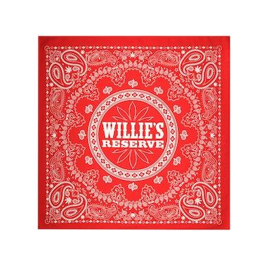 Willie's Reserve Red Paisley Bandana