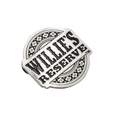 Willie's Reserve Reserve Logo Pin