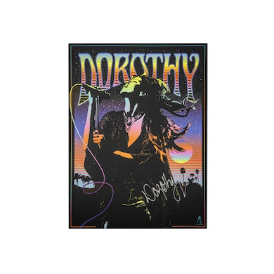 DOROTHY Psychedelic Autographed Poster
