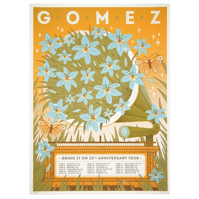 "Gomez Poster-20th Anniversary-""Bring it On"""