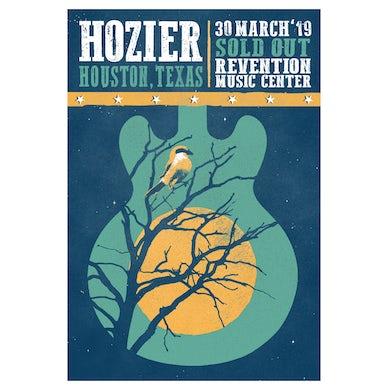 Hozier Poster-03/30/19 Houston, TX