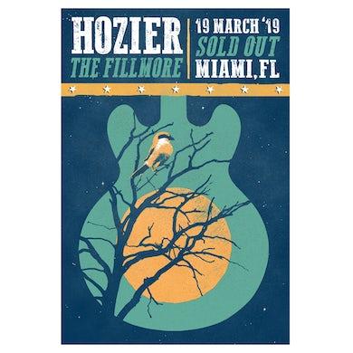 Hozier Poster-03/19/19 Miami, FL