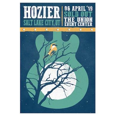 Hozier Poster-04/06/19 Salt Lake City, UT