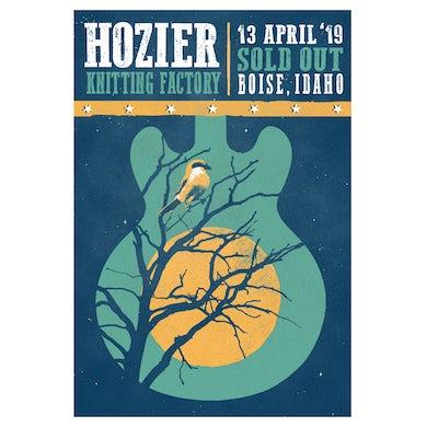 Hozier Poster-04/13/19 Boise, ID