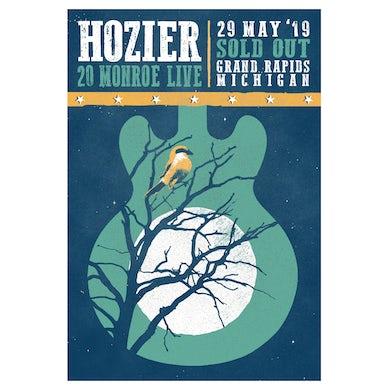 Hozier Poster-05/29/19 Grand Rapids, MI