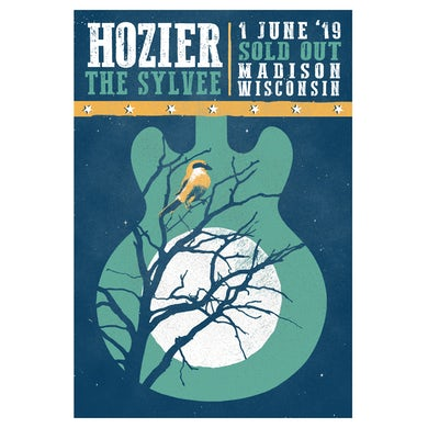 Hozier Poster-06/01/19 Madison, WI